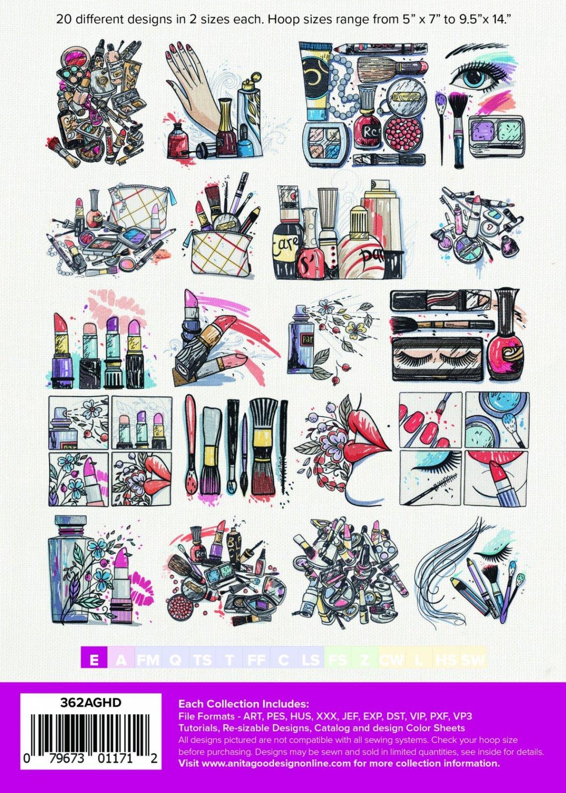 Anita Goodesign: Cosmetic Creations - 079673011712