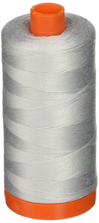 Aurifi l Mako  Cotton 50wt Grey Thread 2600  1300m