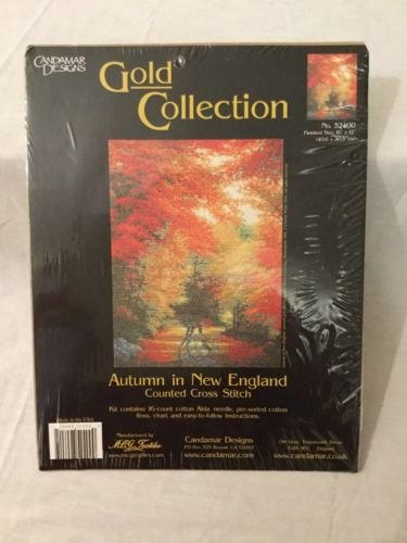 Autumn in New England Counted Cross Stitch