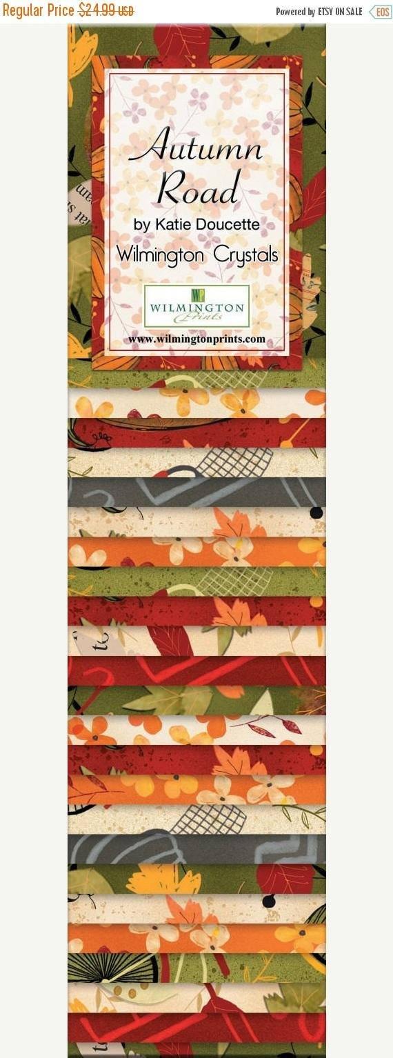 Autumn Road 40 - 2 1/2 X 44 Strips*