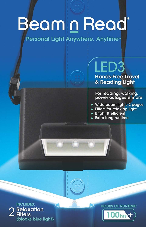 Beam n Read LED3 Hands-Free Travel & Reading Light