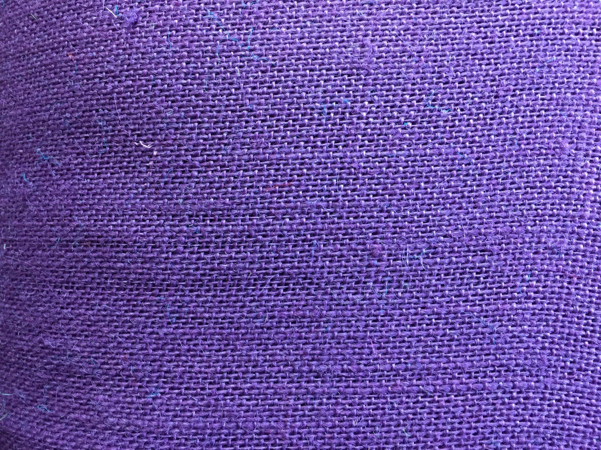 Burlap Purple