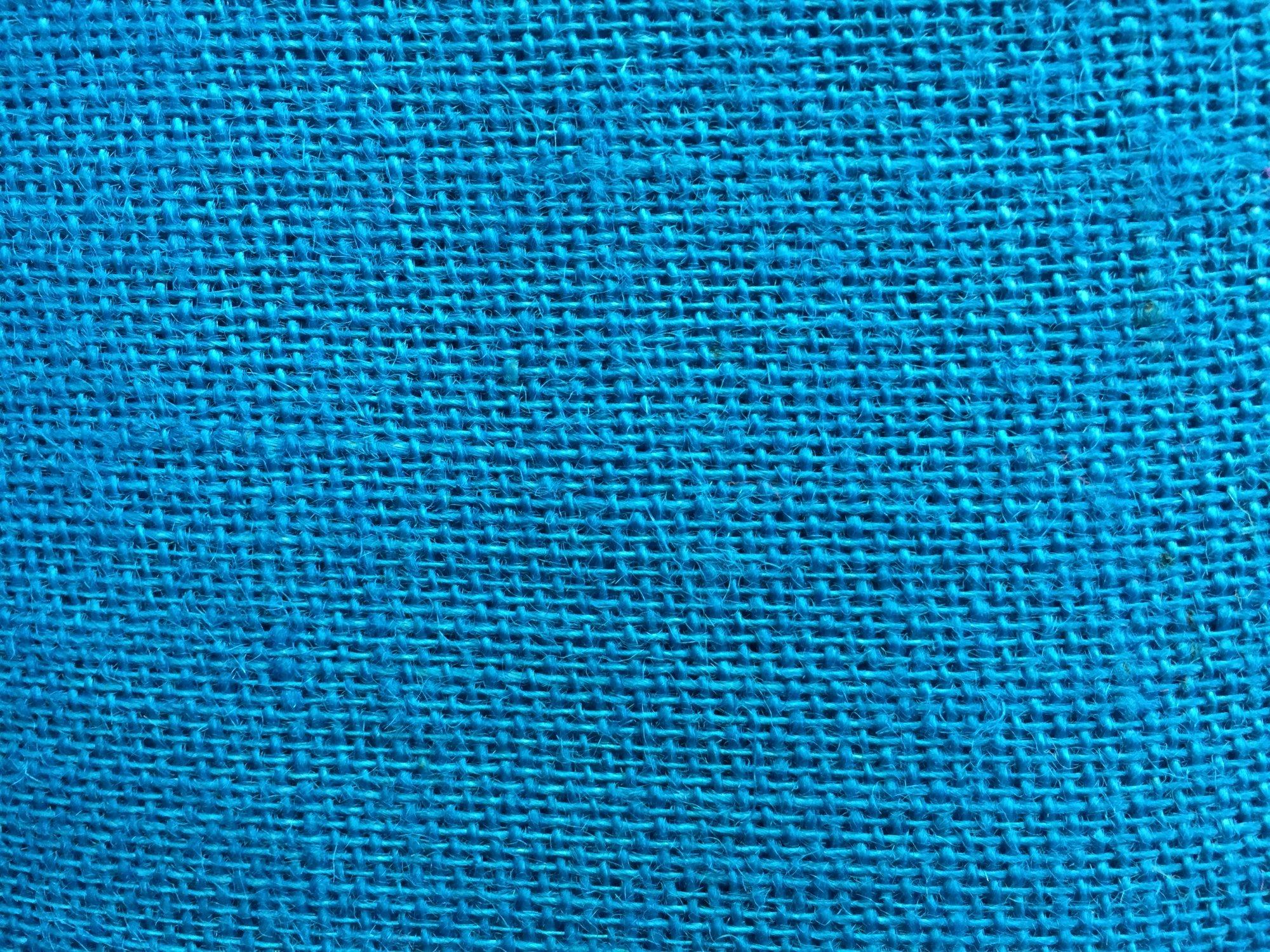 Burlap Turquoise