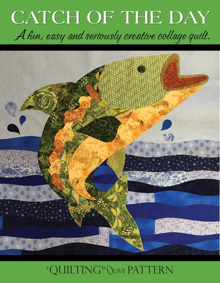 Catch of the Day Collage Pattern