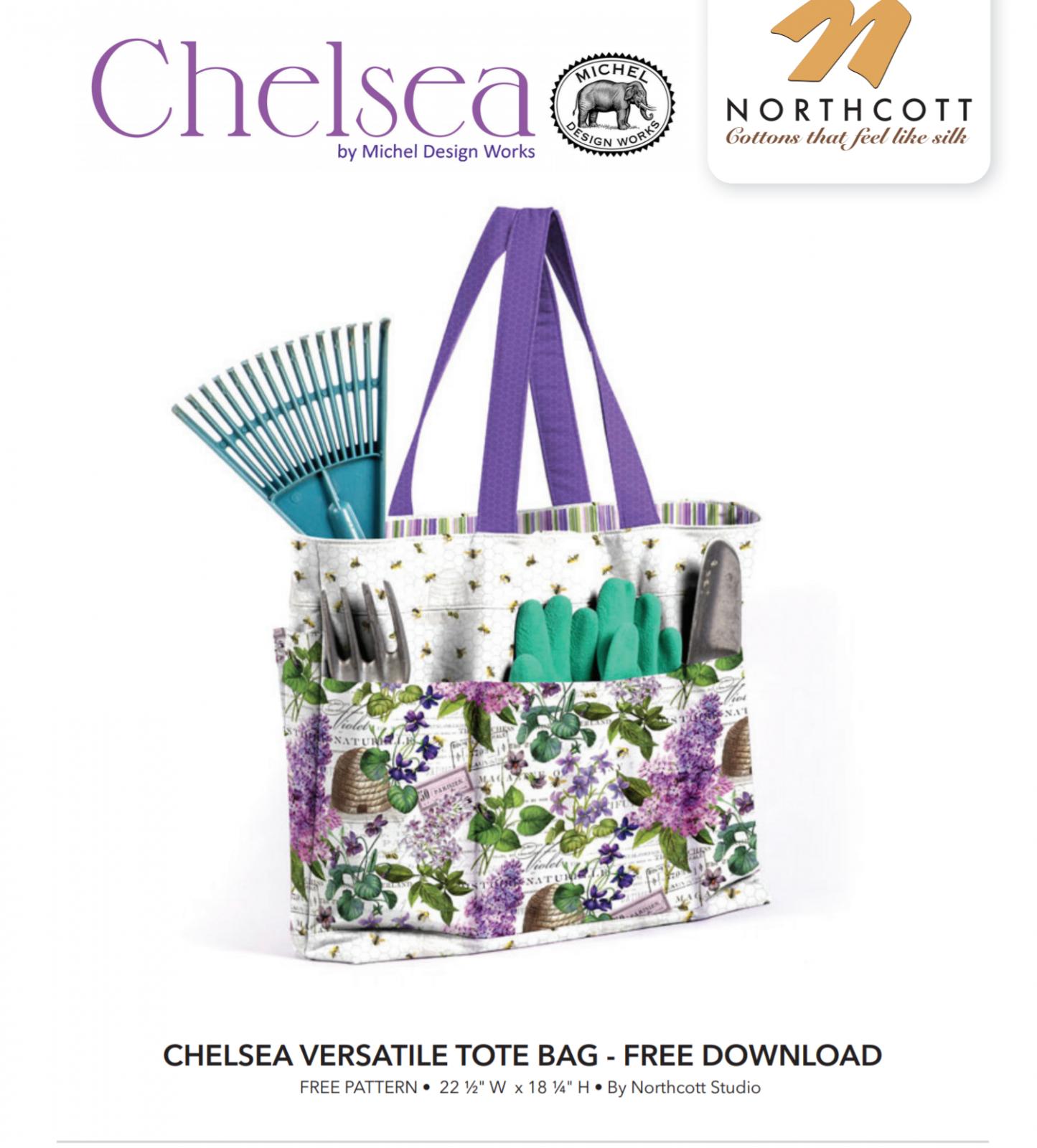 FREE Pattern -Chelsea Versatile Tote