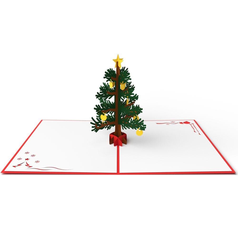 Lovepop Christmas Tree Red
