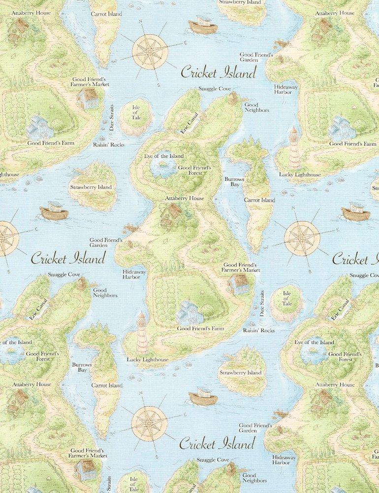 Cotton Tale Farm Map