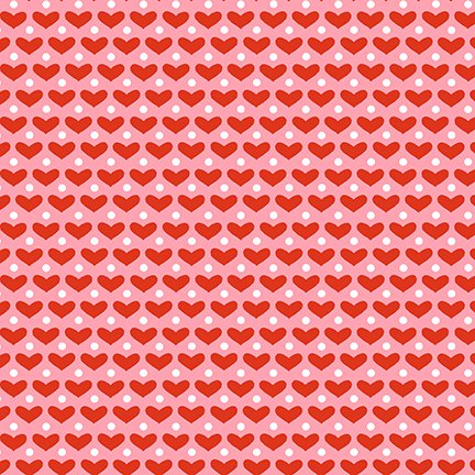Cutie Tootie Hearts Red*