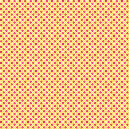 Cutie Tootie Orange Red Dots*