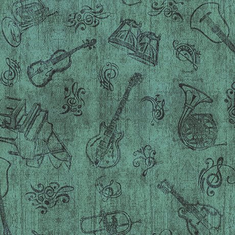 Encore Instruments Toile Green