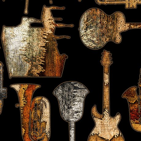 Encore Textures Musical Instruments