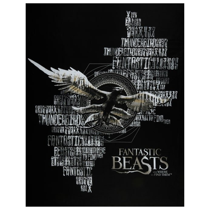 Fantastic Beasts Panel in Black