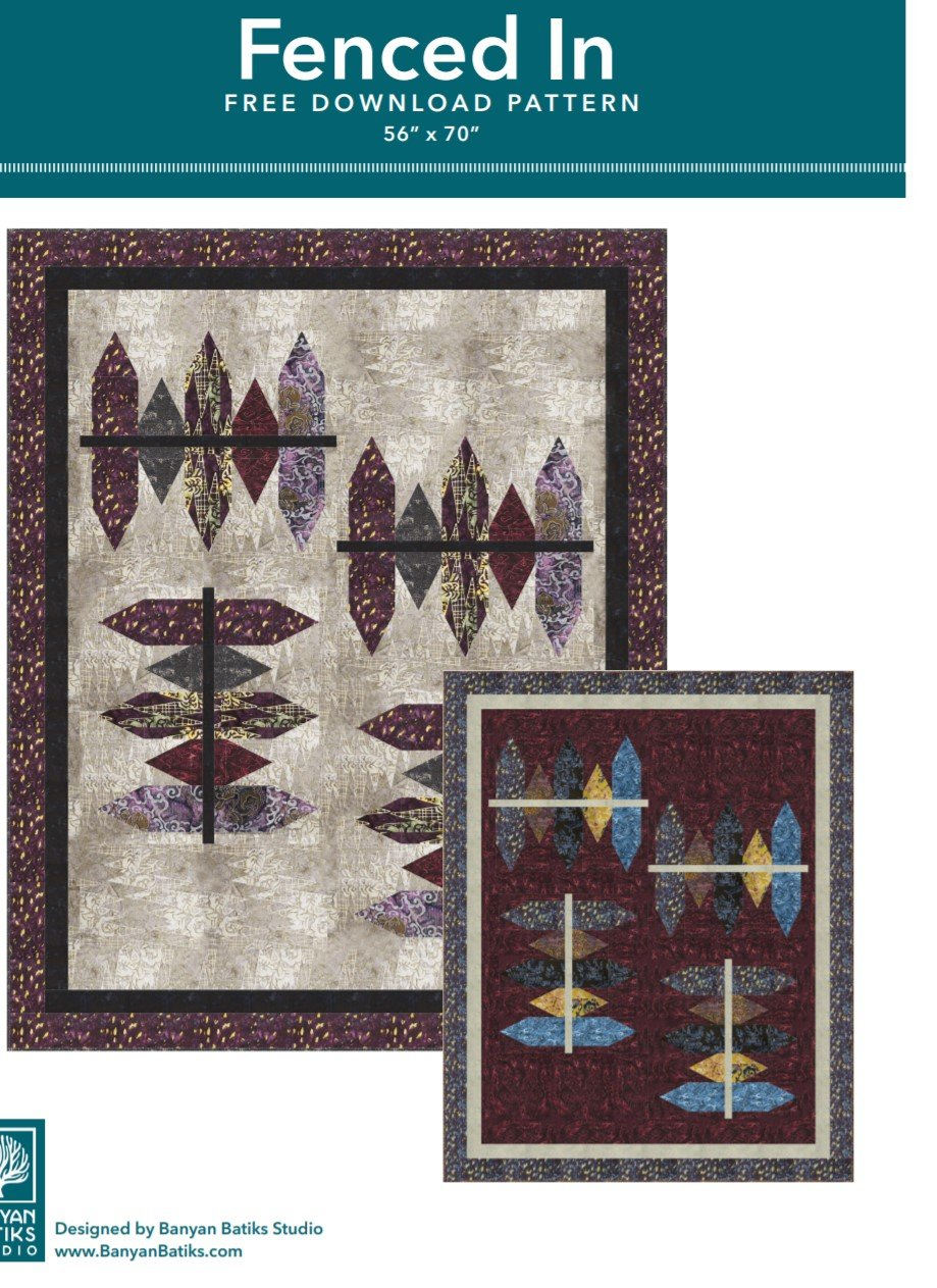 .FREE Pattern  for Batiks2
