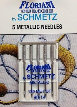 Floriani Chrome Metallic Needles 90/14
