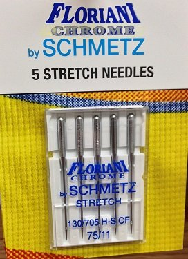 Floriani Chrome Stretch Needles 75/11
