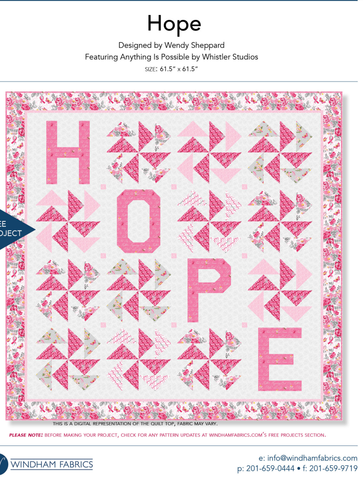 .FREE Pattern  HOPE