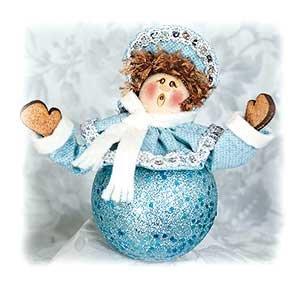 Ice Cream Shot Ornament Kit Caroling Girl