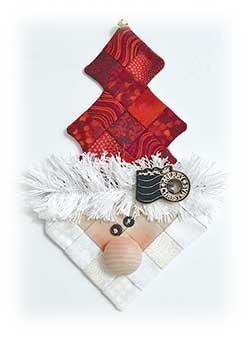Ice Cream Shot Ornament Kit Santa