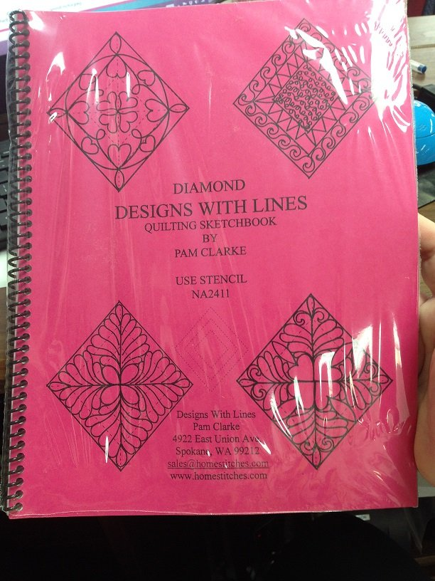 Designs with Lines Quilting Sketchbook