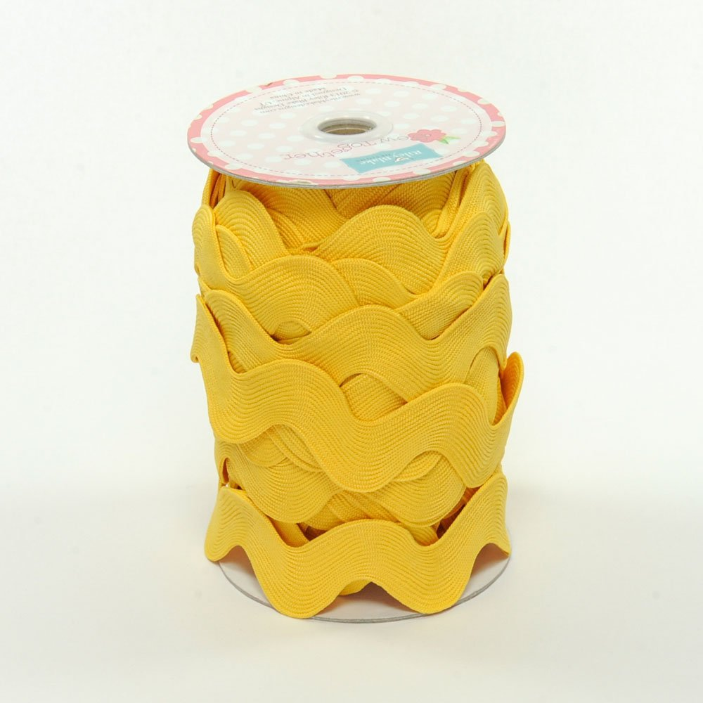 Jumbo Ric-Rac Yellow