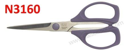 KAI Patchwork Scissors (6 1/3 inch)