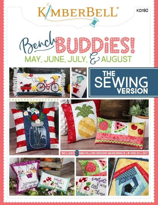 KD575 Kimberbell Bench Buddies! May, June, July, & August Sewing
