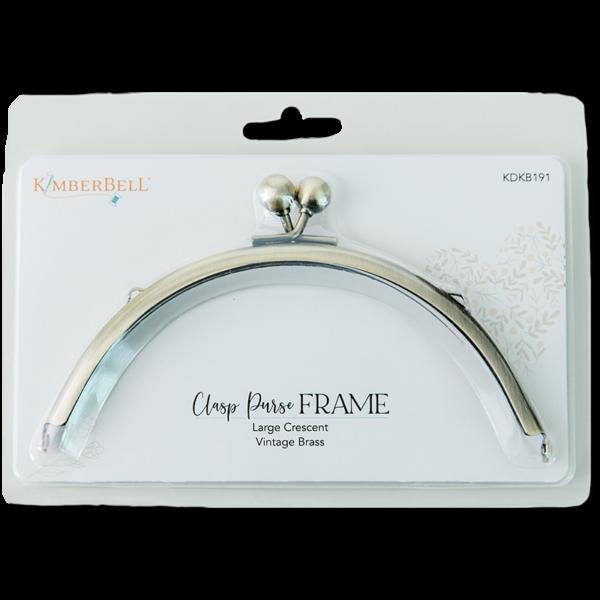 Kimberbell Clasp Purse Frame Large Crescent KDKB191