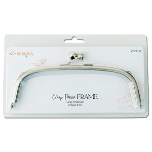 Kimberbell Clasp Purse Frame Large Rectangle