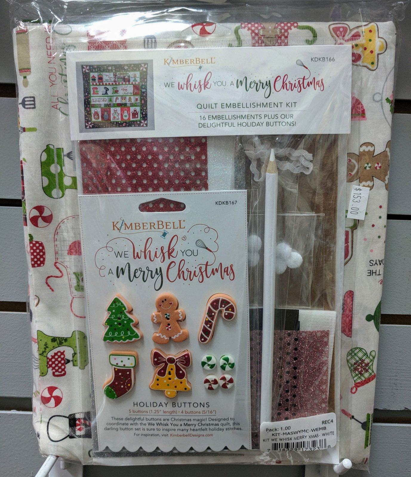 Kimberbell We Whisk You a Merry Christmas Kit