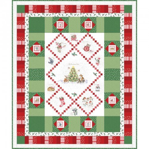 .Warm Wishes Quilt Kit