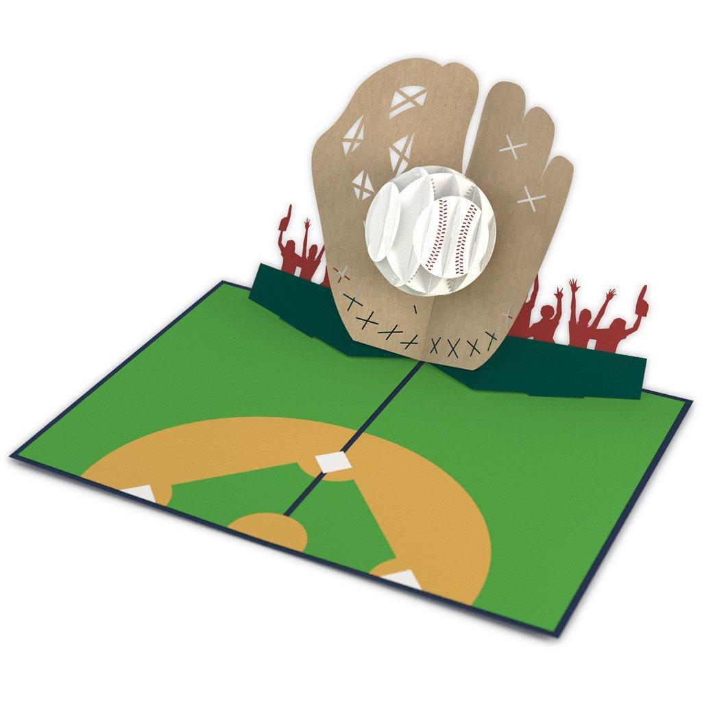 Lovepop Baseball 3D Card