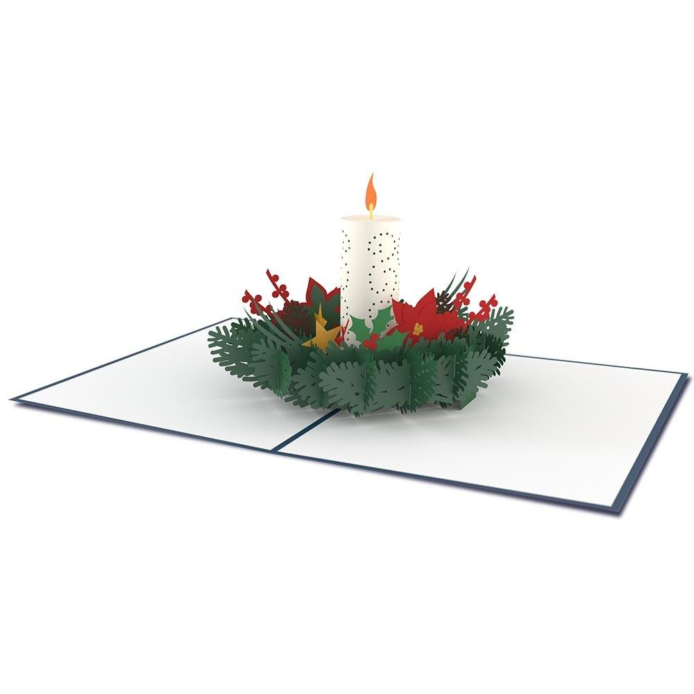 Lovepop Christmas Candle