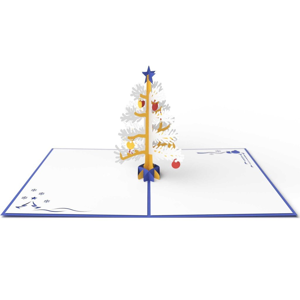Lovepop Christmas Tree Blue