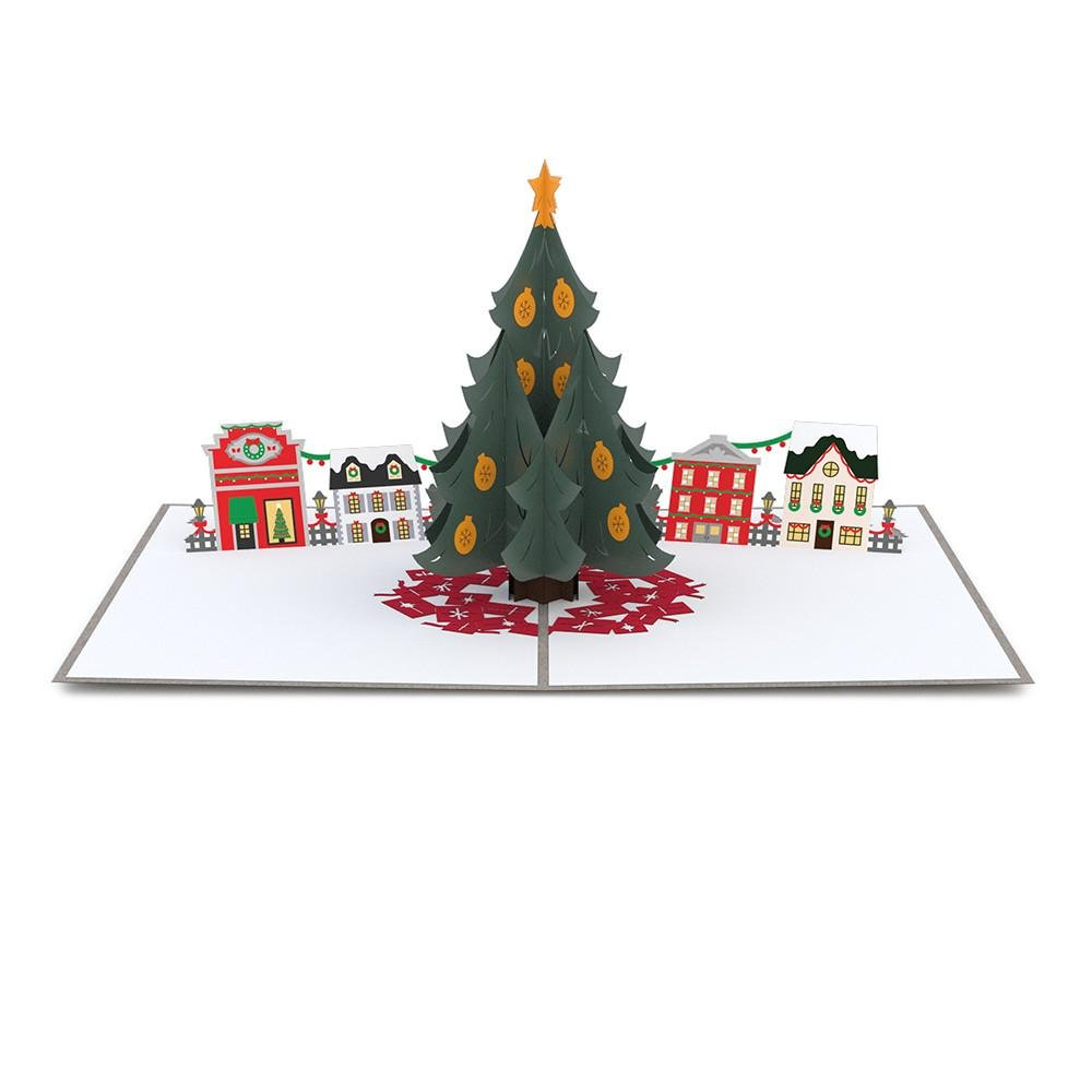 Lovepop Christmas Tree Village