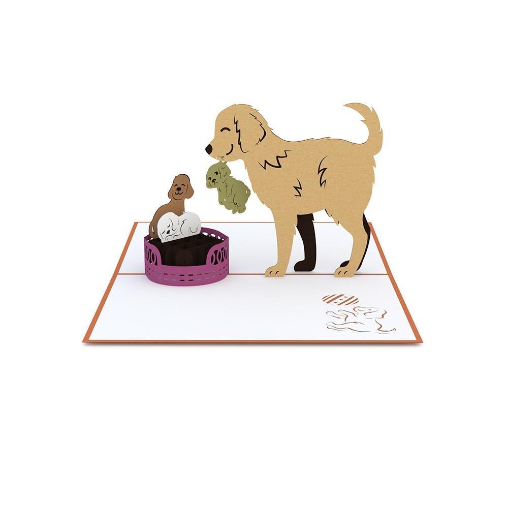 Lovepop Dog Family