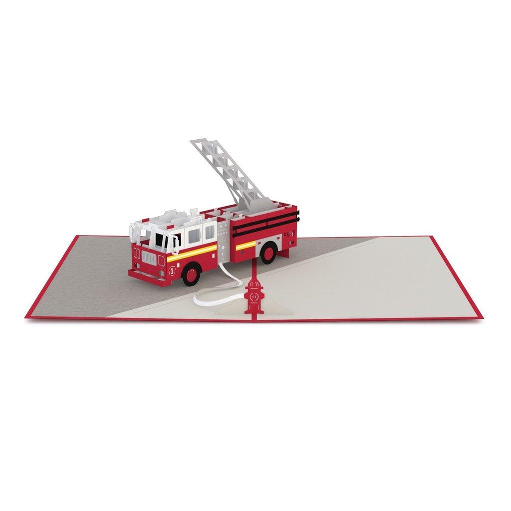 Lovepop Fire Truck