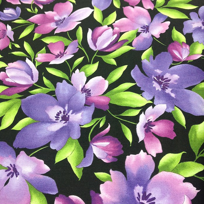 Catalina Ultra Violet Flowers Large