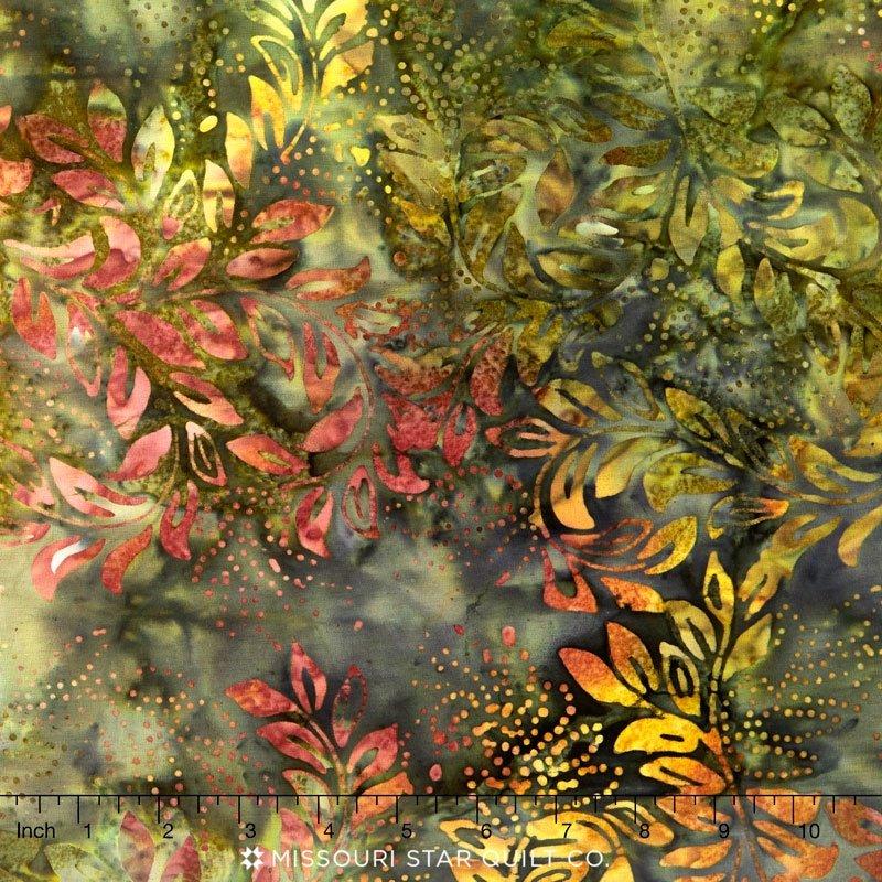 Batik XTONGA Olive Wide Back 106