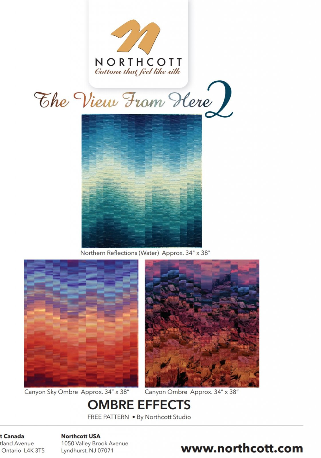 .FREE Pattern  for Ombre