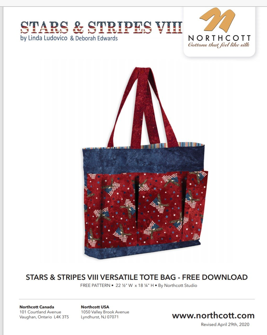 .FREE Pattern  for Tote