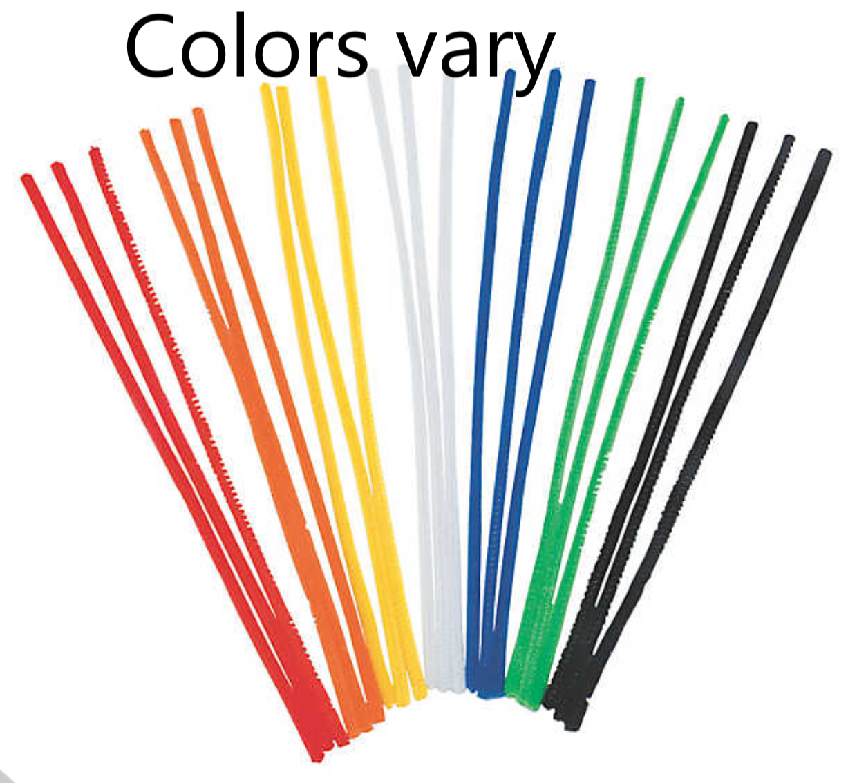 Pipe Cleaners - 10 per pk colors vary 12
