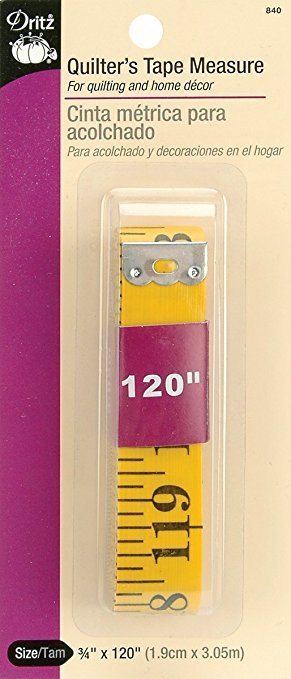 Quilter's Tape Measure