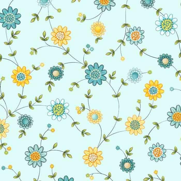 Blossom Flowers Blue