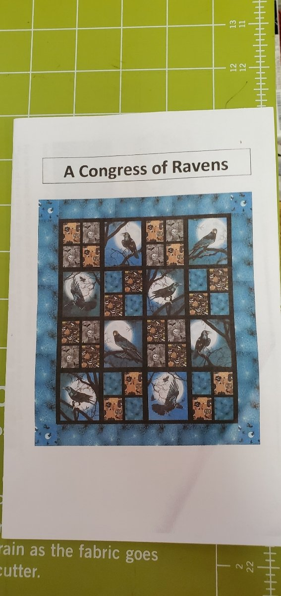 Congress of Ravens Kit and Pattern