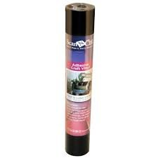 Scan N Cut Adhesive Craft Vinyl Black