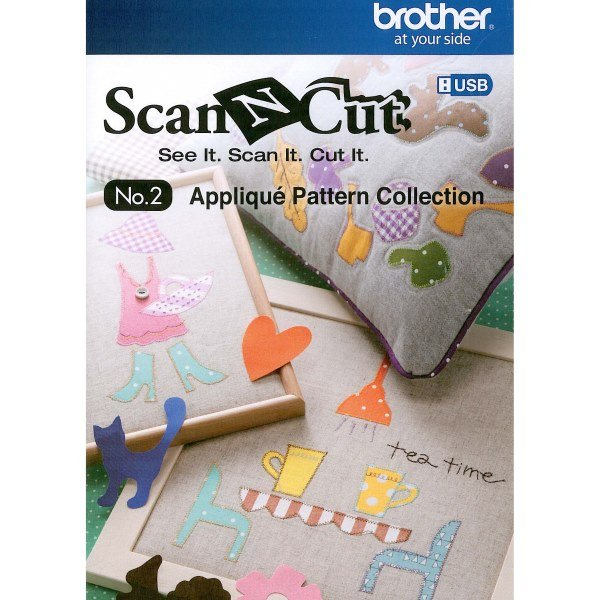 Scan N Cut No. 2 Applique Pattern Collection