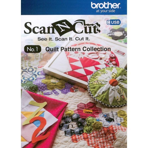 Scan N Cut No. 1 Quilt Pattern Collection