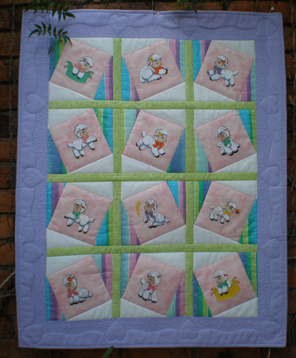 Sewing Revolution Playful Little Lamb Quilt Pattern