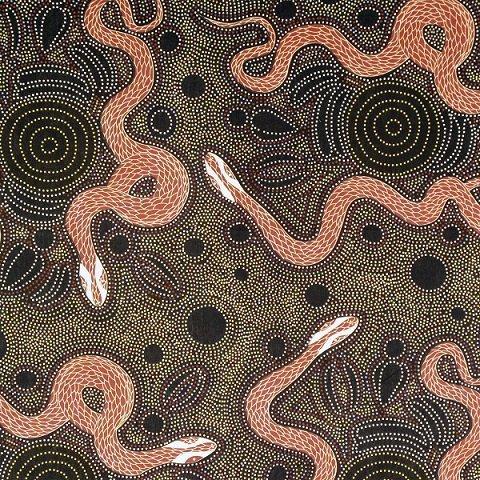 Snake and Emu Charcoal