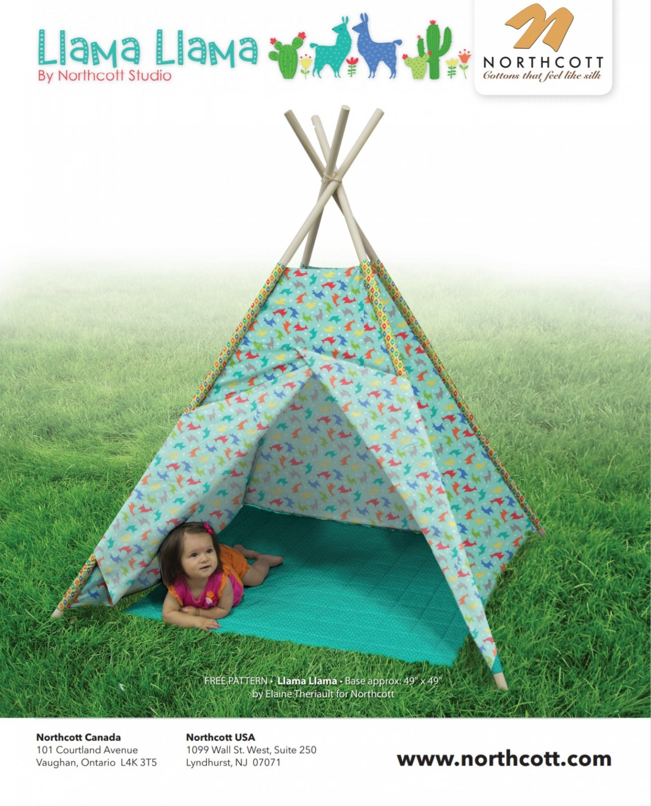 .FREE Pattern  for Teepee